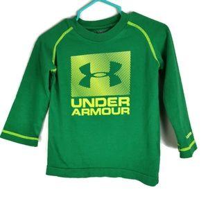 Under Armour Green Long Sleeved T-Shirt 12m